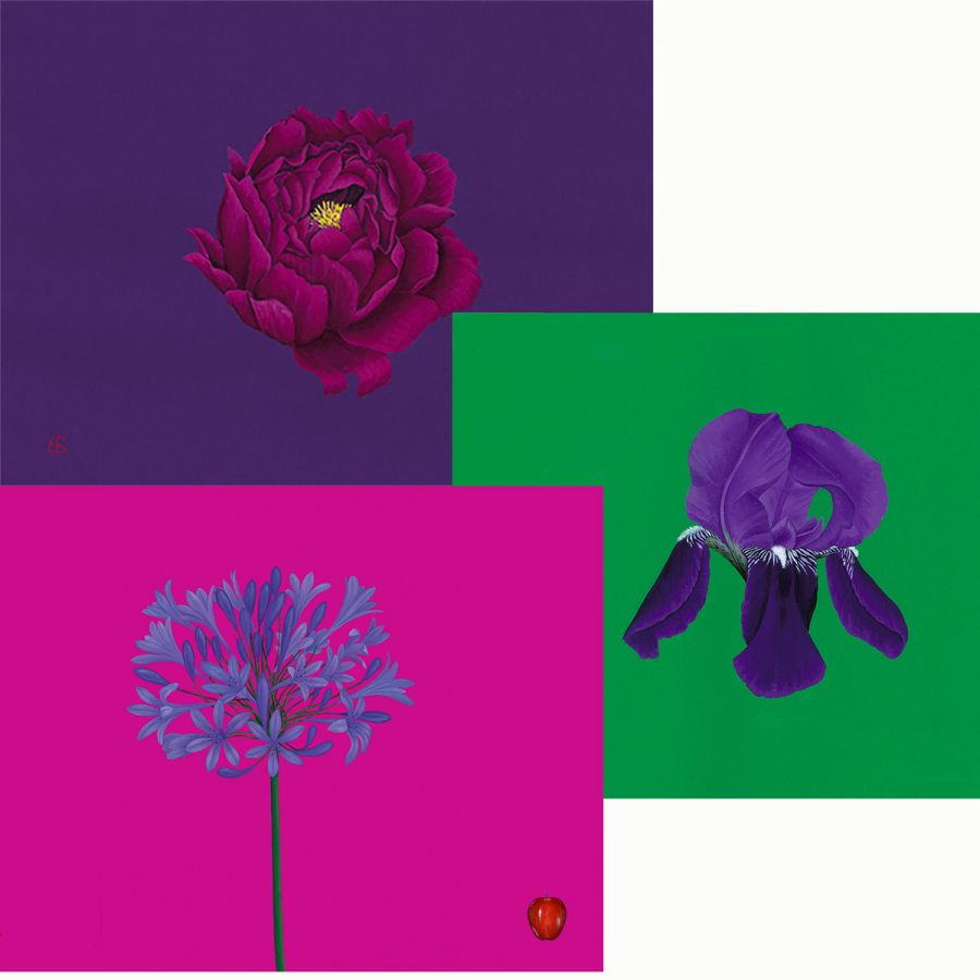 Three Flowers Table Mats