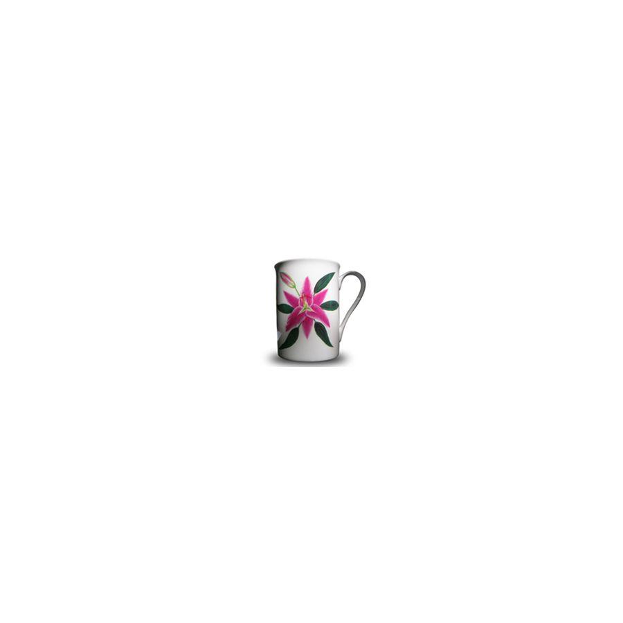 Pink Lily - Bone China 'Chelsea' Mug Sold individually