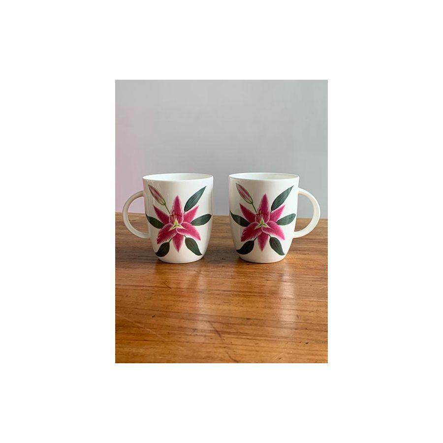 Pink Lily - Bone China 'Life' Mug