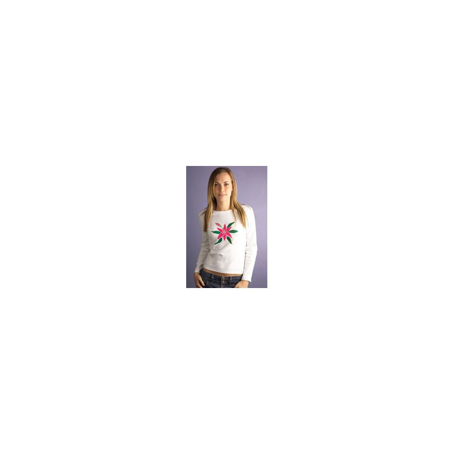 Pink Lily Women's Long Sleeve, Fitted