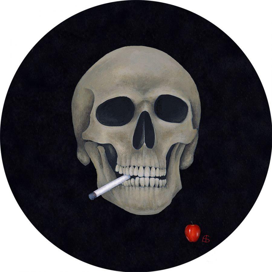 Skull – Round Coasters