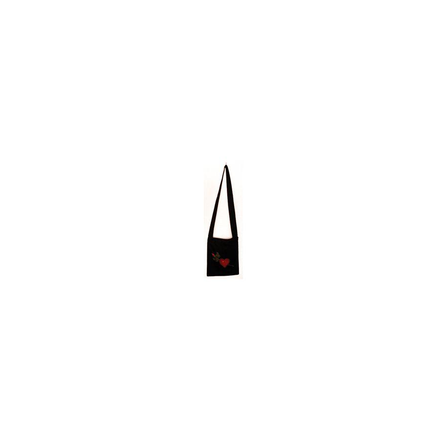 Heart & Rose Shoulder Bag